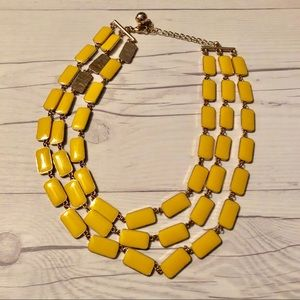 Jewelry - Yellow Block Necklace